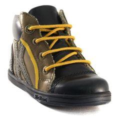 651A KICKERS TACHO KAKI www.ouistiti.shoes le spécialiste internet de la chaussure bébé, enfant, junior et femme collection automne hiver 2015 2016