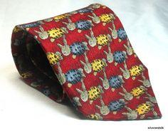 "Jos A Bank Silk Tie Miracle Collection Rabbits Bunnies Red 4"" EUC Emily Long #josabank #easter #easterbunny"