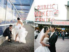 Seattle wedding portraits