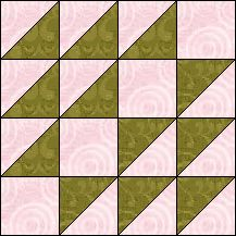 Block of Day for April 06, 2016 - Ann and Andy-strip piecing-The pattern may be downloaded until: Saturday, April 30, 2016.