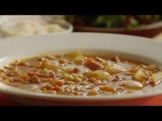 Two kinds of lentils and mashed potatoes are used in this tasty and economical soup. Whole cloves are added during cooking, for extra flavor. This soup can easily be made vegetarian by substituting vegetable stock for the chicken soup base. Healthy Soup, Healthy Chicken Recipes, Cooking Recipes, Healthy Cooking, Delicious Recipes, Diet Recipes, Healthy Eating, Yummy Food, Lentil Soup Recipes