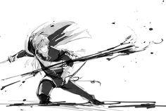 Sh*t Post of Touken Ranbu! Pose Reference, Drawing Reference, Action Poses, Manga Boy, Anime Outfits, Touken Ranbu, Storyboard, Wattpad, Drawings