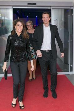 """Princess Marie and Prince Joachim attended the """"Zulu Awards"""" in Copenhagen. 3/27/2015"""