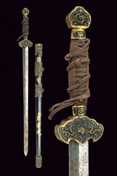 A jian (sword)    provenance:	 	China dating:	 	 20th Century