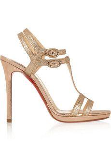 48b75ee822b9 Christian Louboutin Leather High Heels
