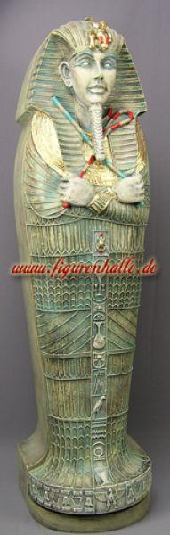 Ägyptischer Tutanchamun Sarkophag CD Schrank Dekofigur