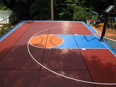 Fun Tennis Basketball Court Outdoor Basketball Court Basketball Court Landscaping Atlanta
