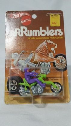 New Hot Wheels Rumblers Preying Menace No. 6644 NOC from Redline Era #HotWheels