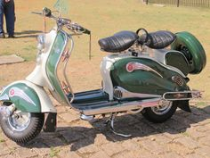Lambretta - that will do nicely.