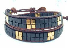 Wrap Bracelet Wrap Bracelets Beaded Bracelet by CupidsMoonJewelry