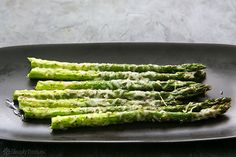 Baked Asparagus with Parmesan Recipe | Simply Recipes favorite Alspaugh recipe easy and quick