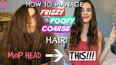 Here is how I manage my crazy, poofy lion hair! My hair looked like a mop for most of my life but I figured out a routine that completely changed my hair. Tips For Thick Hair, Wavy Hair Tips, Frizzy Hair Tips, Wavy Hair Care, Hair Frizz, Thick Frizzy Hair, Fizzy Hair, Anna Hair, Poofy Hair