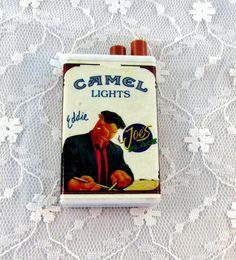 Vintage Camel Lighter Match Striker  Says by SunburyVintageStore