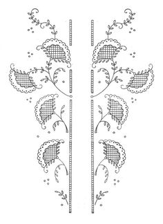Broderie D'Antan: Embroidery Patterns (4 designs)