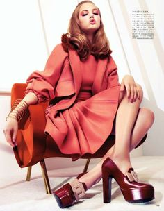 lindsey wixson by sharif hamza for vogue japan august 2012
