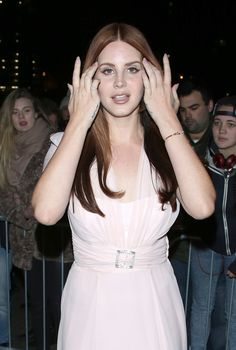 Lana Del Rey at The Elle Style Awards