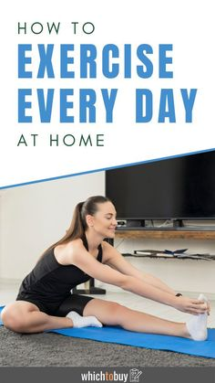 How to Exercise Every Day at Home: If you're invested in the idea of only exercising at home, you may want to consider setting up your very own home gym. Fortunately, you can still stay in shape and learn how to exercise every day at home without a big set-up! For your convenience, we've noted any important exercise equipment you'll need for each tip for staying in shape. So, read now to find out how to exercise every day at home. #exerciseathome #fitness