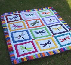 dragonfly quilt! Perfect for a little girl