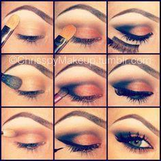 Eye makeup pretty