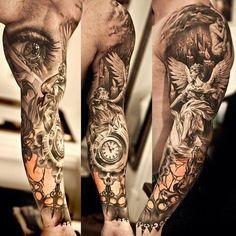 Resultado de imagen de sleeve tattoos