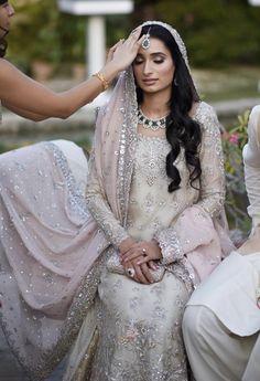 Nikkah bride ( dress by bunto kazmi ) - Alexandra Lionquist Nikkah bride ( dress by bunto kazmi ) Nikkah bride ( dress by bunto kazmi ) Pakistani Engagement Dresses, Pakistani Wedding Outfits, Pakistani Bridal Wear, Pakistani Wedding Dresses, Bridal Outfits, Wedding Attire, Wedding Lehnga, Bridal Hijab, Desi Wedding