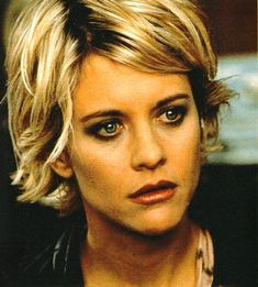 Meg Ryan Always loved this haircut on her and how she played the good girl. Always wanted to copy cat her style lol :)