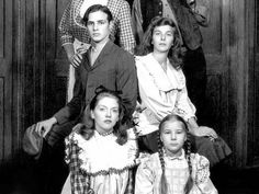 Marlon in one of his first broadway plays, I Remember Mama.