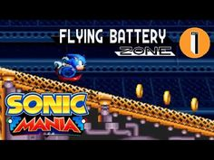 Sonic Mania - Flying Battery Zone Reveal Trailer - http://gamesitereviews.com/sonic-mania-flying-battery-zone-reveal-trailer/