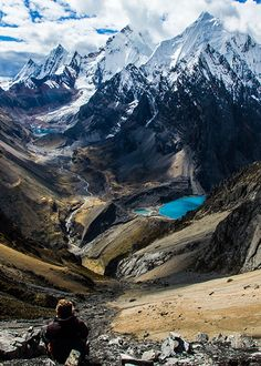 Siula Grande - Peru - The Scene of Touching the Void