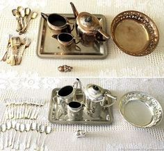 How to clean Silver Cleaning Solutions, Cleaning Hacks, How To Clean Silver, Ideas Para Organizar, Natural Cleaning Products, Diy Canvas, Home Hacks, Organization Hacks, Clean House