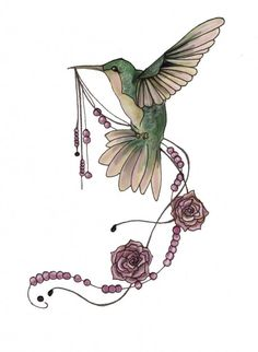Pose & Details: Love the Art Deco feel and the beads, plus how the bird is holding them.