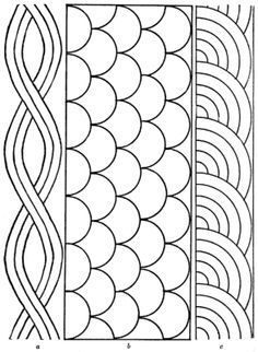 Free Border Templates   Free Quilting Patterns and Designs for Beginners