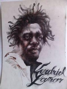 Kendrick Lamar 1  by ienciusergiu