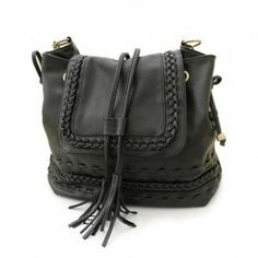 $24.28 Casual Women's Crossbody Bag With Weaving and Tassels Design