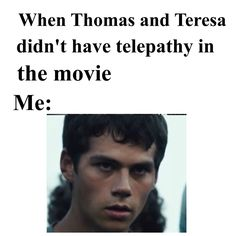 THEY DID IT PERFECTLY WELL FOR THE X-MEN MOVIES SO WHY THE FUCK DIDN'T THEY DO IT FOR TERESA AND THOMAS?. THIS GIFT WAS SO IMPORTANT FOR FUCKS SAKE.