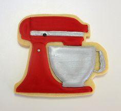 Kitchen Aid mixer cookie