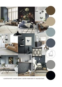 Portfolio 6 Interieuradvies woonkamer in 2020 Portfolio 6 Interieuradvies woonkamer in 2020 New Living Room, Home And Living, Living Room Decor, House Color Schemes, House Colors, Interior Paint Colors For Living Room, Interior Design Presentation, Interior Design Boards, Home Decor Inspiration