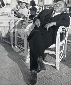 Lisette Model (1901-1983) Promenade des Anglais, Nice, 7 August 1934