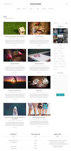 Discourse is a powerful #WordPress #theme with a build-in inline page builder for business, fashion or a personal #blogging website. Download Now!