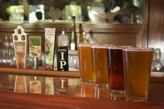California Craft Beers at Moray's Lounge on Mission Bay at the Catamaran Resort Hotel and Spa