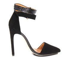 Black Pointy Heel.