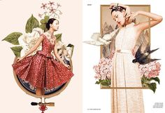 Photography series by Ryan Tandya for Dewi Magazine -  Chinoiserie