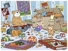 Children's Book Illustration by Calvin Innes, via Behance