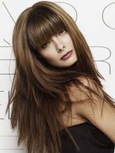 Modern Long Hairstyles With Bangs - Give your tresses a silky-soft and dapper update with these modern long hairstyles with bangs. Get rid of frizzy locks and split ends to make sure you make a real fashion statement with your new do. Crown your chic long do with a voguish fringe to get into the groove of the party season.