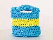 Little summer bag. www.kleinewollwerke.de or www.facebook.com/kleinewollwerke