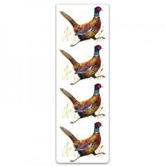 All our magnetic bookmarks measure x x x designed to clasp the page rather than mark it they make a perefct gift with a nice twist. Magnetic Bookmarks, Magnets, Pheasant, Animals, Animales, Animaux, Common Pheasant, Animal, Animais