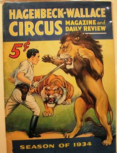 A 1934 Hagenbeck-Wallace program was $42. Check out this awesome WorthPoint article!