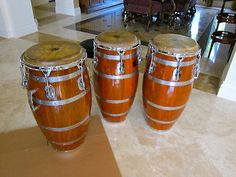 congas think these are Matt Smiths owned by Michael Pluznik would love set of these