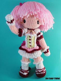 Crochet amigurumi doll Madoka Kaname - Imgur