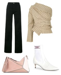 """""""Bella"""" by fionameehan on Polyvore featuring A.W.A.K.E., Calvin Klein 205W39NYC, Fendi and Loewe"""